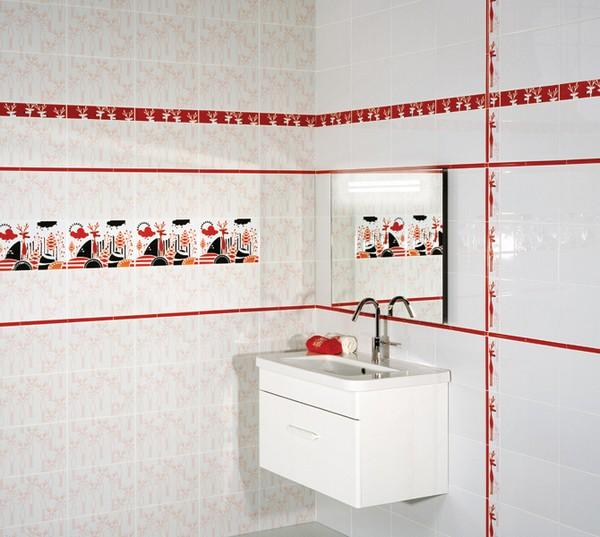 ванная в белых тонах фото