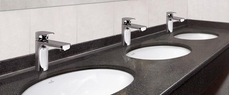 раковины встроенные в столешницу для ванных фото