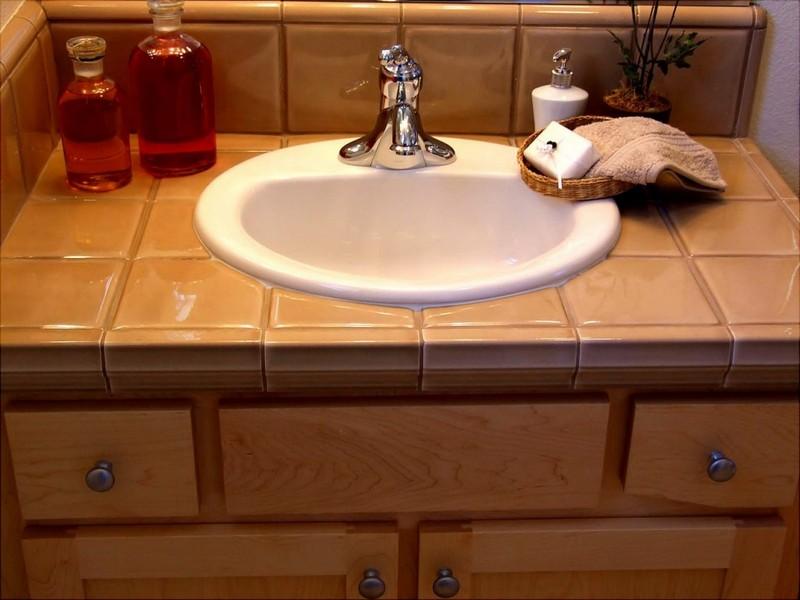 встраиваемая раковина в ванную фото