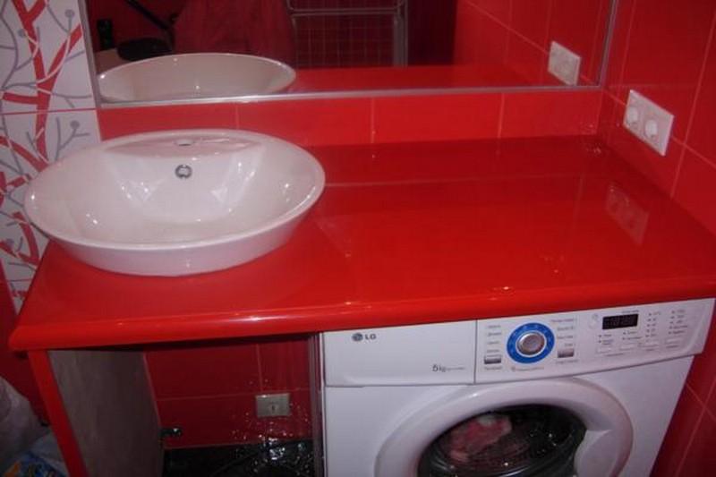 встраиваемые раковины в ванную комнату фото