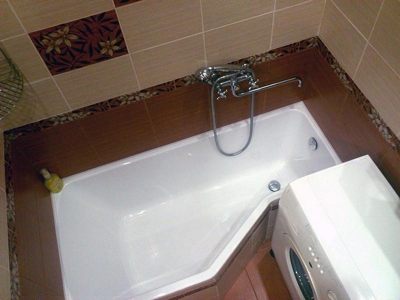 дизайн интерьера ванной в хрущевке фото