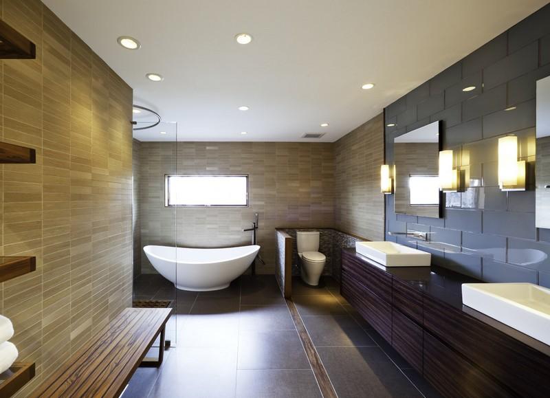 светодиодные потолочные светильники для ванной комнаты фото