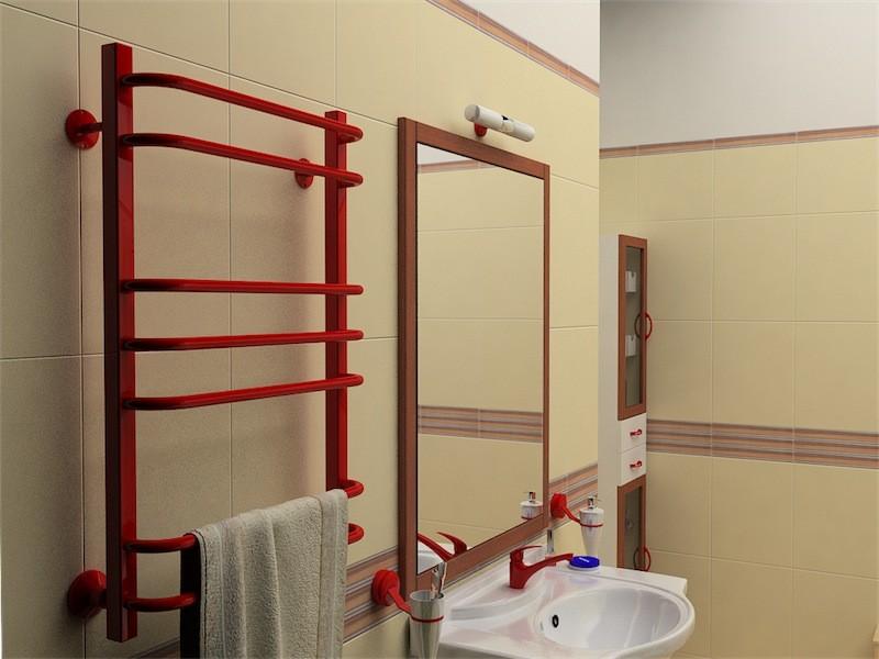 замена полотенцесушителя в ванной фото
