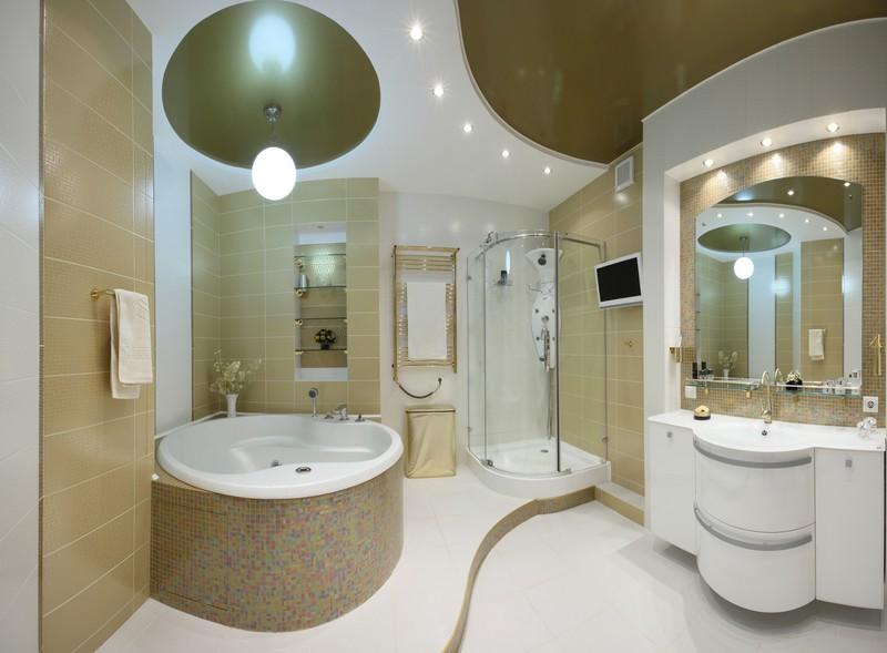 декоративная подсветка в ванной фото