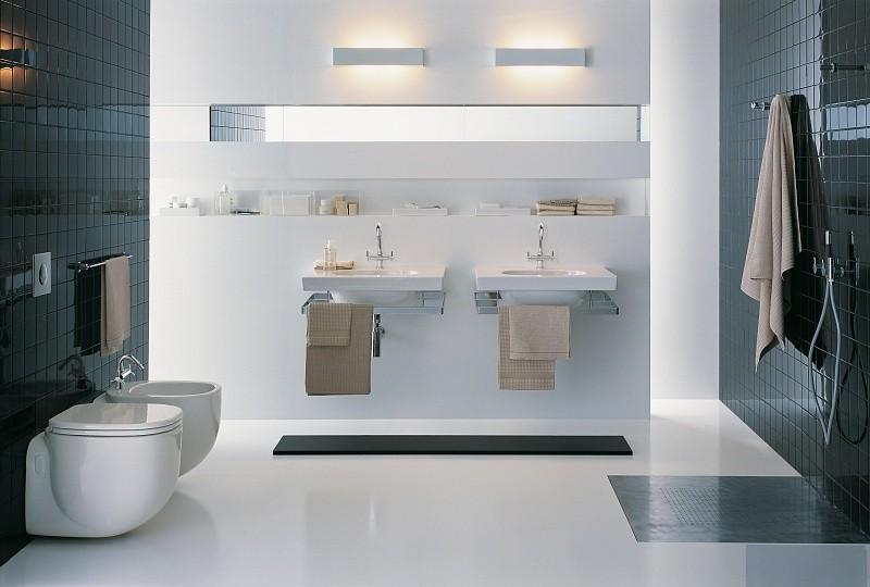 инсталляция раковины в ванную фото