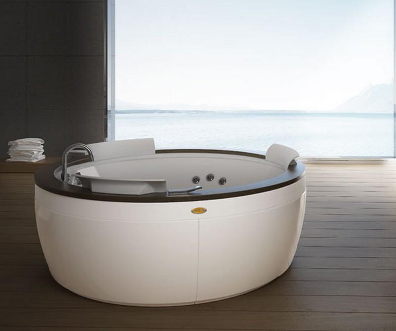 акриловая ванна с гидромассажем фото