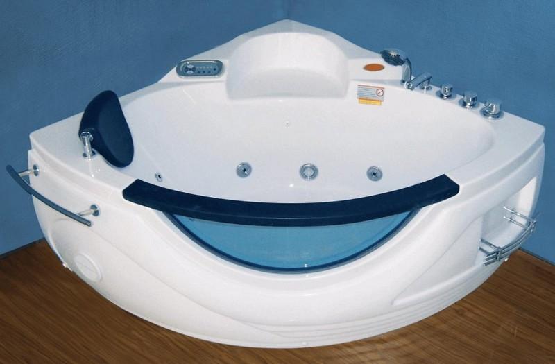установка ванны с гидромассажем фото