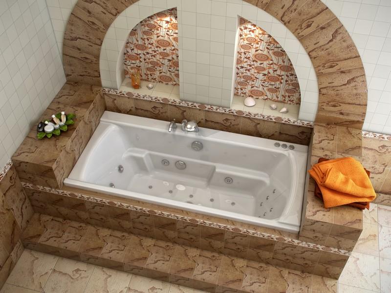 ванна с гидромассажем фото