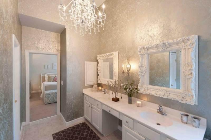 потолочный светильник для ванной фото