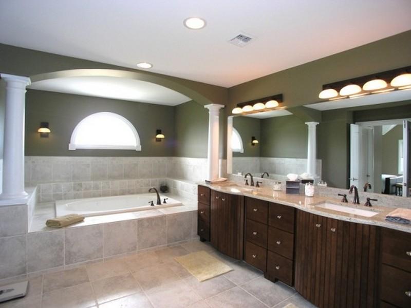 светильники для зеркала в ванной комнате фото