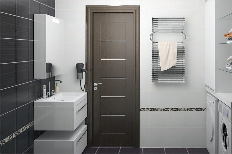 Какие двери для ванной лучше