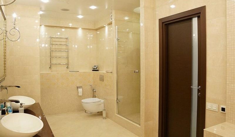 Двери для ванной экошпон