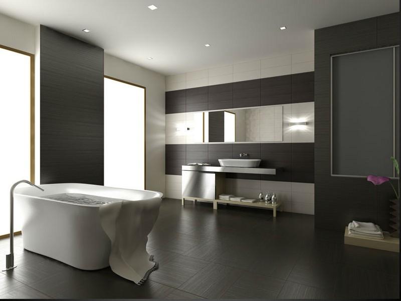 дизайн ванной хай тек фото