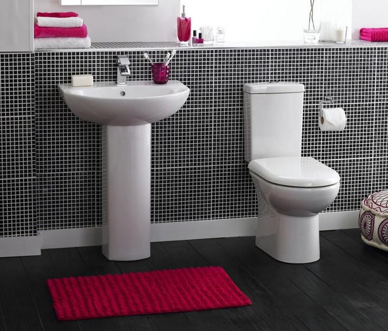 дизайн ванной комнаты в стиле минимализм фото