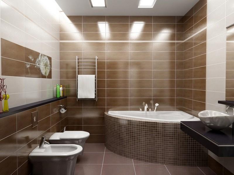 сантехника для ванной минимализм фото