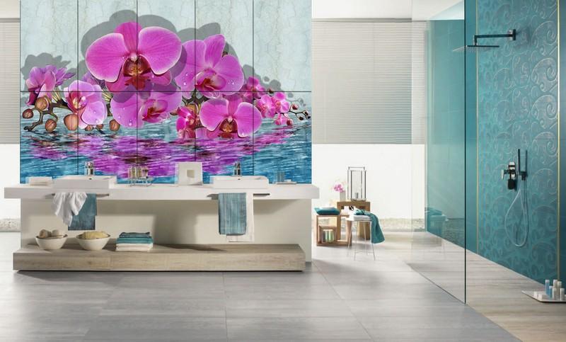 3d плитка для ванной: виды | Ремонт и дизайн ванной комнаты