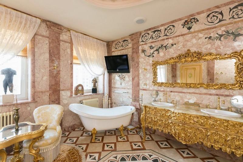 красивые интерьеры ванных комнат фото