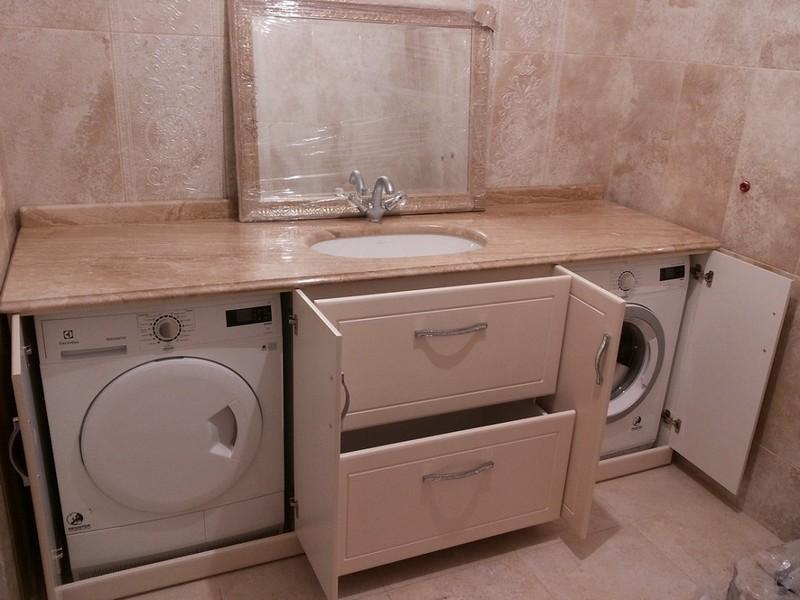 какие размеры шкафа для стиральной машины