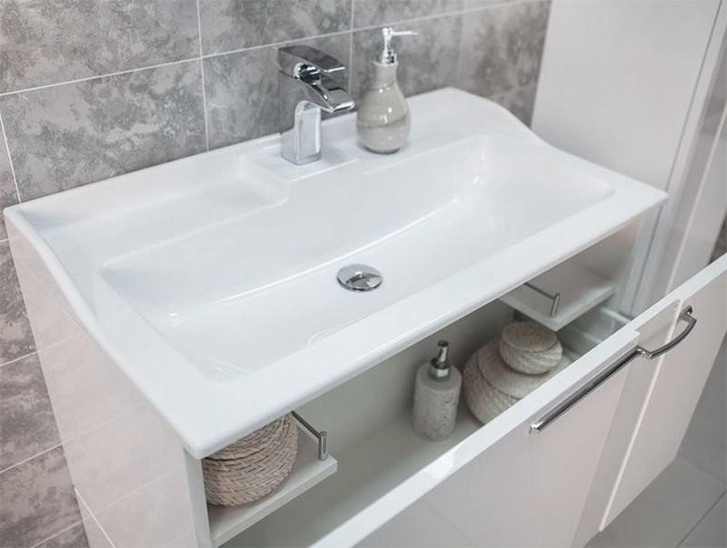 тумба под умывальник в ванную фото