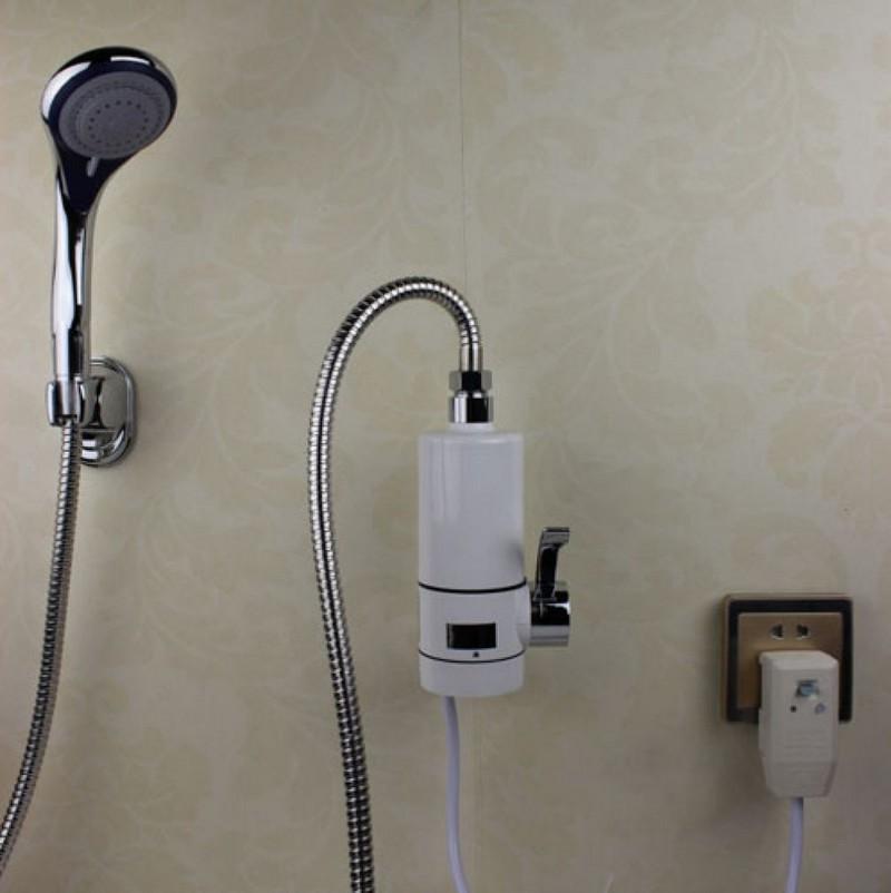 проточный водонагреватель для душа в квартире