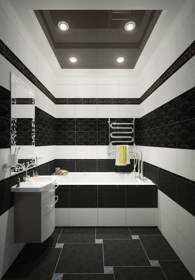 ванная комната в сером цвете фото