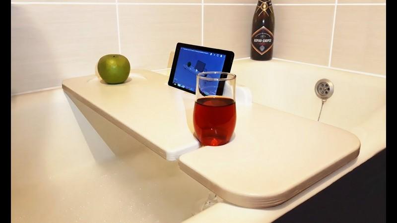 столик в ванную комнату фото