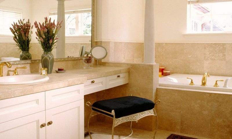 туалетный стол в ванную фото