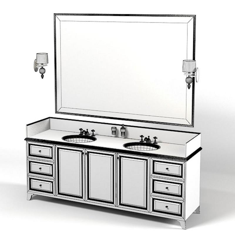 туалетный столик с умывальником фото