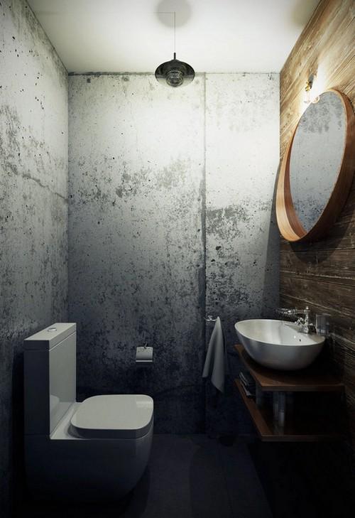 туалет лофт дизайн фото