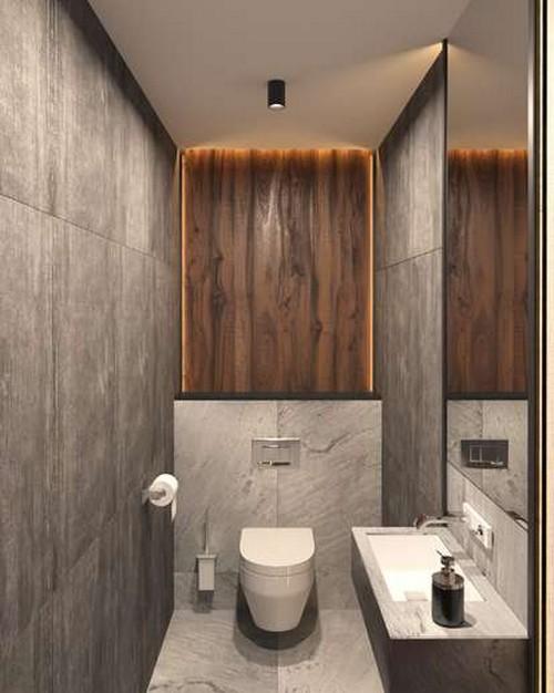 туалет в квартире в стиле лофт фото