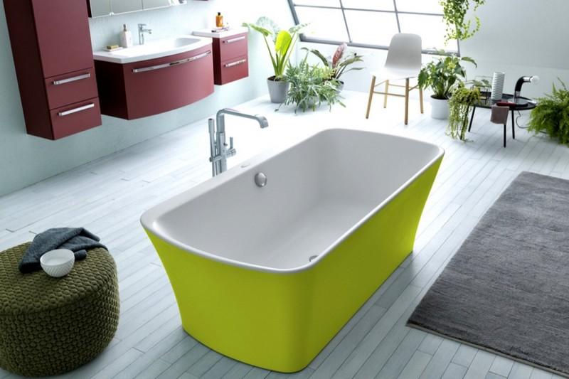 цветная сантехника для ванной фото