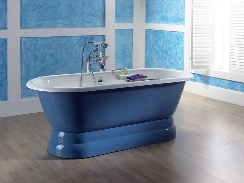 голубая ванна фото