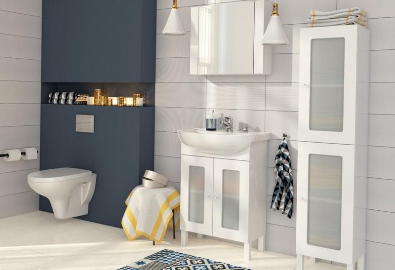 белая мебель в ванную комнату фото