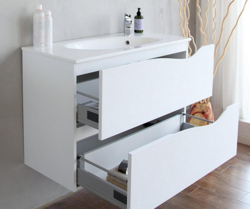 недостатки белой мебели для ванной