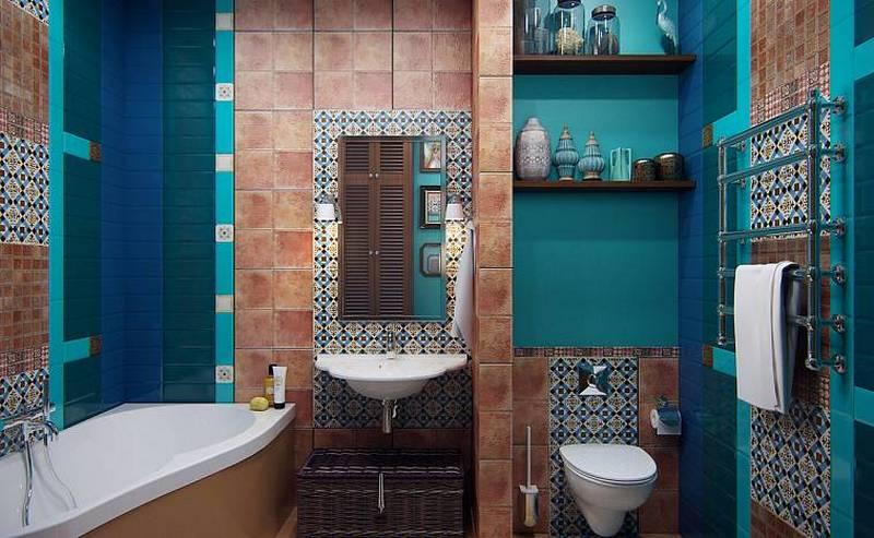 ванная в средиземноморском стиле фото