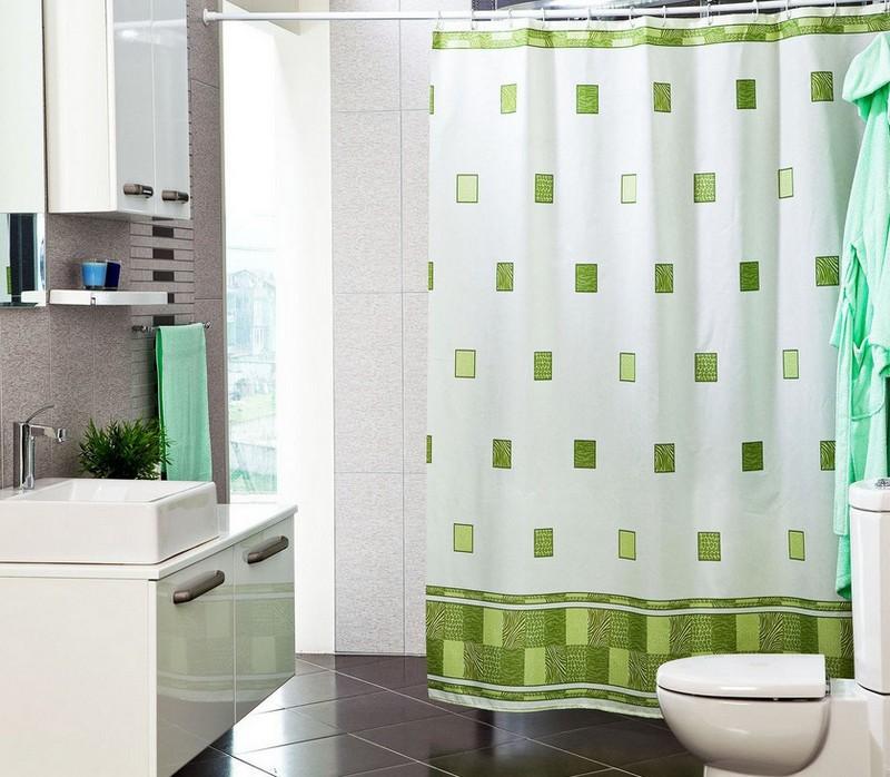 из каких материалов изготавливают шторы в ванную