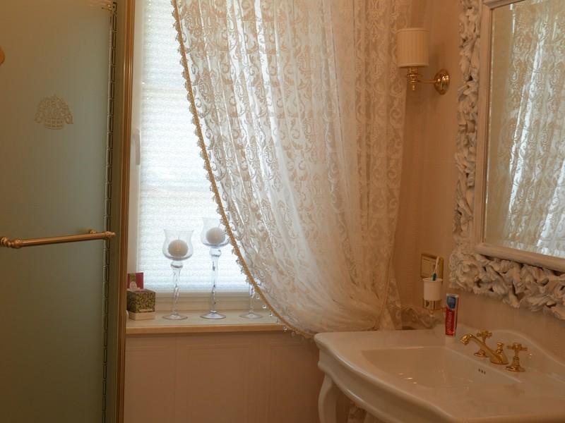 тюль на окно для ванной фото