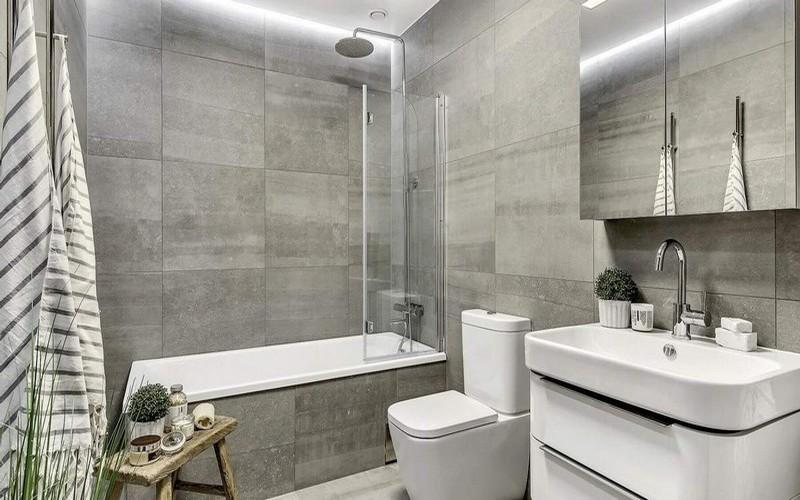 косметический ремонт в ванной и туалете фото