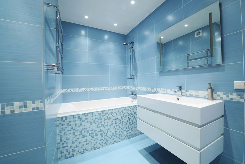 косметический ремонт в ванной фото