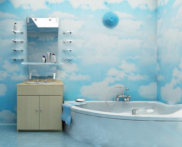 чем отделать стены в ванной пластиковые панели