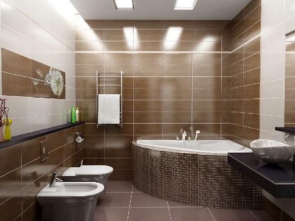 как сделать освещение потолка в ванной