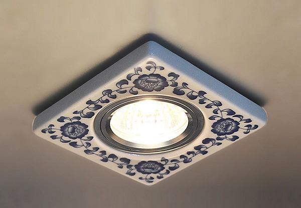 светодиодный светильник для ванной фото