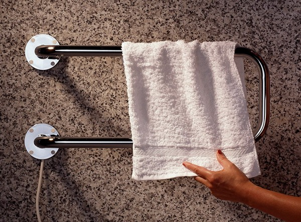 подключение электрического полотенцесушителя фото