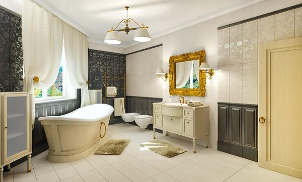 классическая ванная фото
