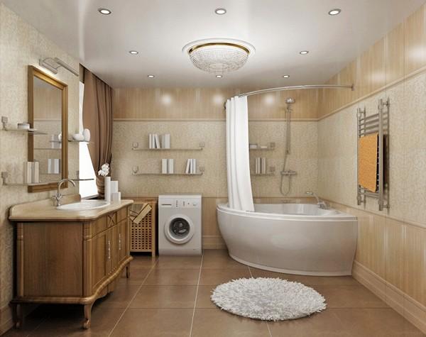 ванные комнаты в классическом стиле фото