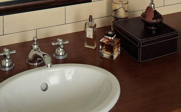 мебель и сантехника для ванной в классическом стиле фото