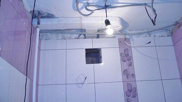 вентиляция в ванной комнате фото