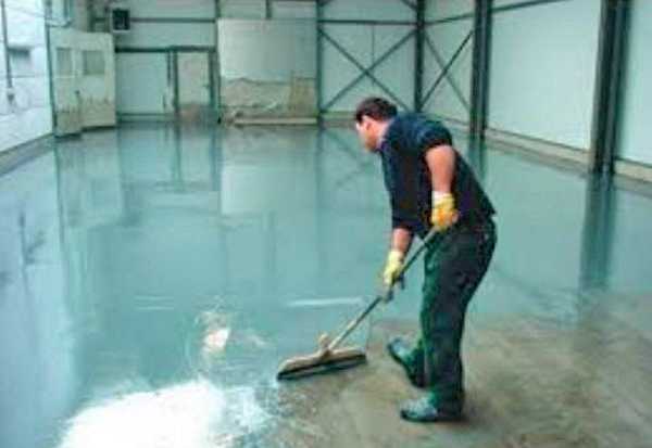 технология изготовления наливного пола