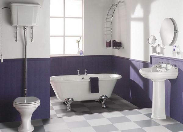 идеи покраски стен в ванной фото