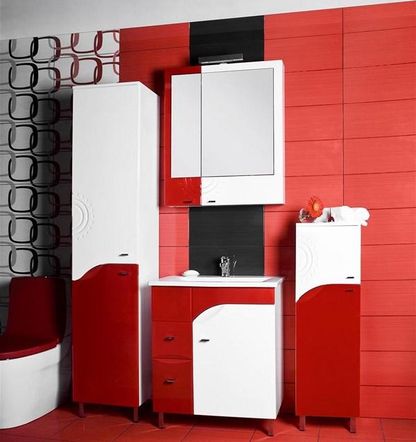 шкаф пенал для ванной комнаты фото